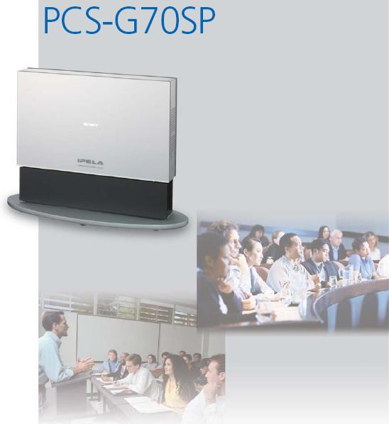 Thiết bị Hội nghị truyền hình SONY IPELA PCS-G70SP