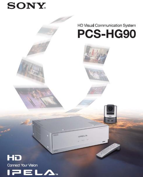 Thiết bị Hội nghị truyền hình SONY IPELA PCS-HG90
