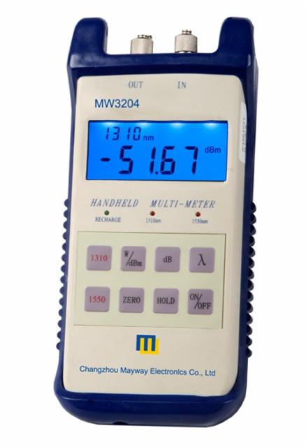 Máy thu, phát đo công suất quang Myway MW3204