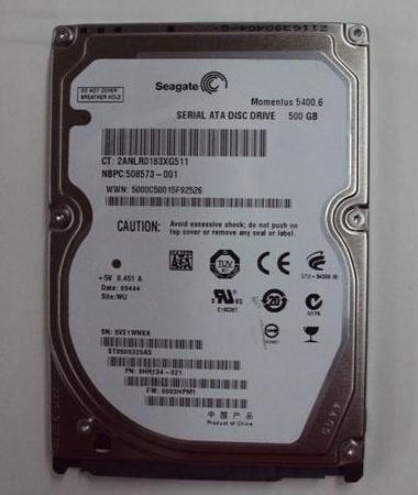 Hard Drive Barracuda® 3.5-inch Seagate 500GB SATA