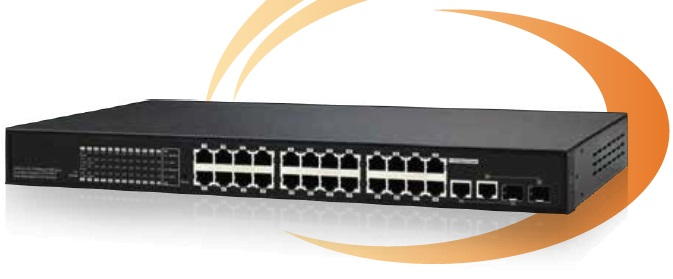 26-Port 10/100Mbps PoE Switch IONNET IFS-2624W (380Watt)
