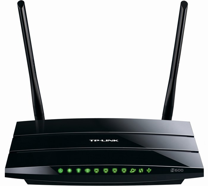 N600 Wireless Dual Band Router TP-LINK TL-WDR3500