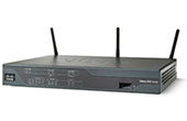 ROUTER CISCO | G.SHDSL Security Router CISCO 888-K9