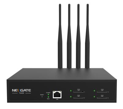 Thiết bị mạng GSM 4 kênh SIM di động Yeastar TG400