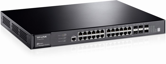 28-Port Gigabit Switch TP-LINK T3700G-28TQ