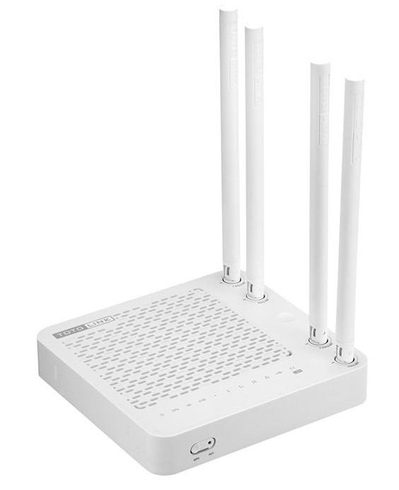 AC1200 Wireless Dual Band Router with USB Port TOTOLINK A850R