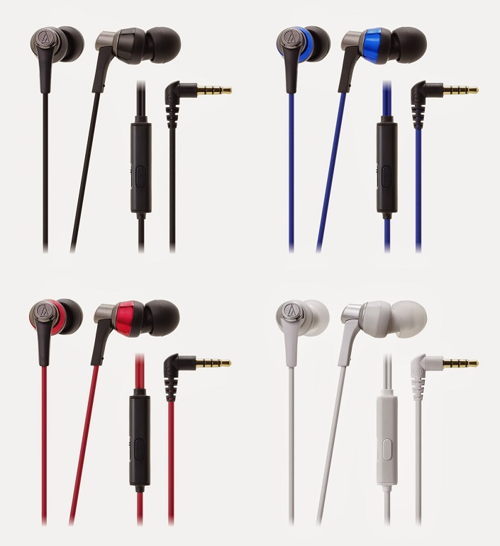 Tai nghe In-Ear HeadPhones Audio-technica ATH-CKR3iS