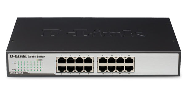 16-port Gigabit Switch D-Link DGS-1016D/E
