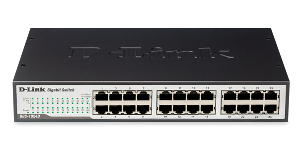 24-port Gigabit Switch D-Link DGS-1024D/E