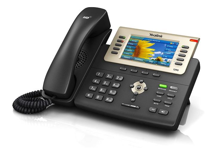 Kết quả hình ảnh cho SIP-T29G: Điện thoại IP Yealink SIP-T29G