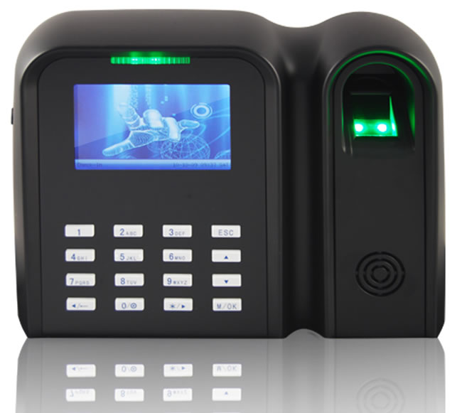 Máy chấm công vân tay và thẻ cảm ứng RONALD JACK 6869
