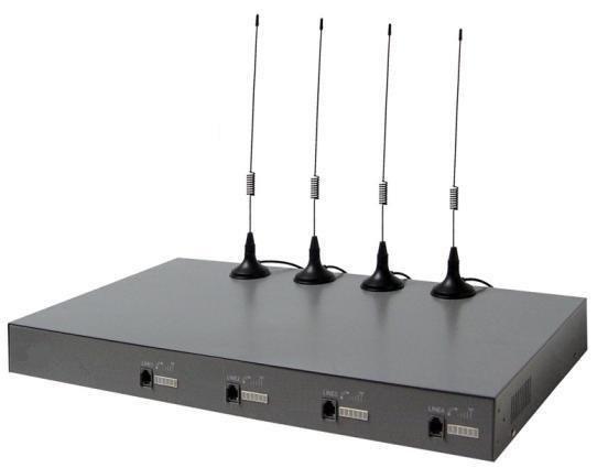 Thiết bị GSM 4 kênh SIM di động Yoriver FWT-C804