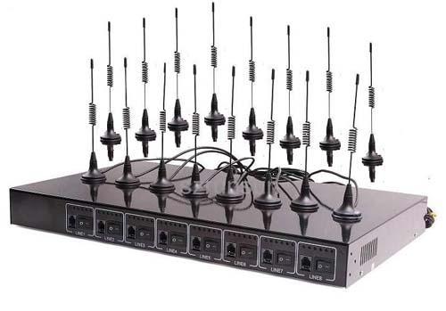 Thiết bị GSM 16 kênh SIM di động Yoriver FWT-C816