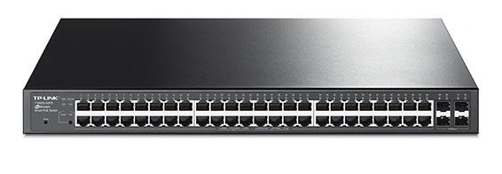48-Port Gigabit Smart PoE+ Switch with 4 SFP Slots TL-LINK TL-SG2452P