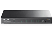 Thiết bị mạng TP-LINK | 8-Port Gigabit Smart PoE Switch with 2 SFP Slots TP-LINK TL-SG2210P