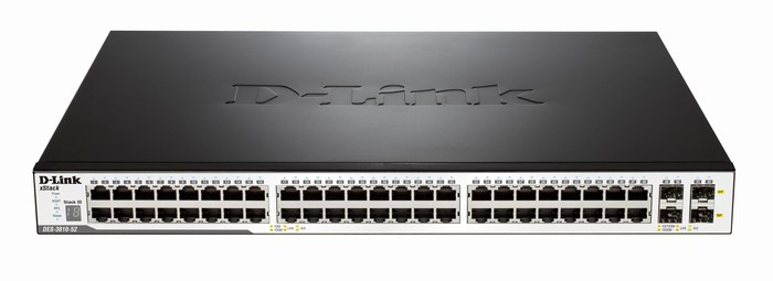 52-Port L3 Managed Fast Ethernet Switch D-Link DES-3810-52/EEI