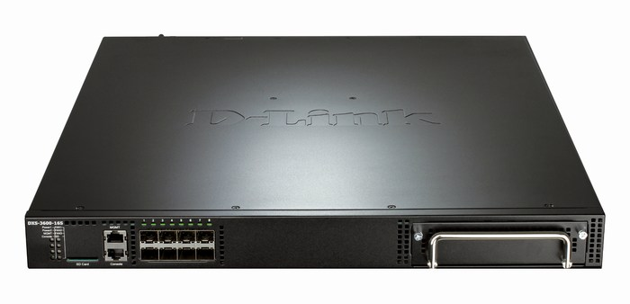 8-Port 10 Gigabit SFP+ L2 + Top-of-Rack Managed Switch D-Link DXS-3600-16S/EEI