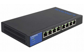 Thiết bị mạng LINKSYS | 8-Port Business Desktop Gigabit PoE+ Switch LINKSYS LGS108P