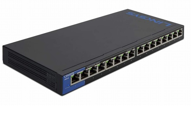 16-Port Business Desktop Gigabit Switch LINKSYS LGS116