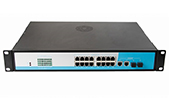 Switch PoE NETONE | 16-Port 10/100Mbps PoE Switch NETONE NO-AF-1622 (260 Watt)