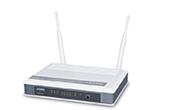 Thiết bị mạng PLANET | 300Mbps 802.11n Wireless Broadband Router PLANET WNRT-627
