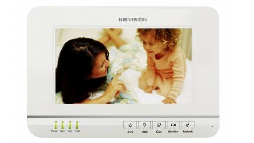 Màn hình màu chuông cửa KBVISION KB-VDP02H