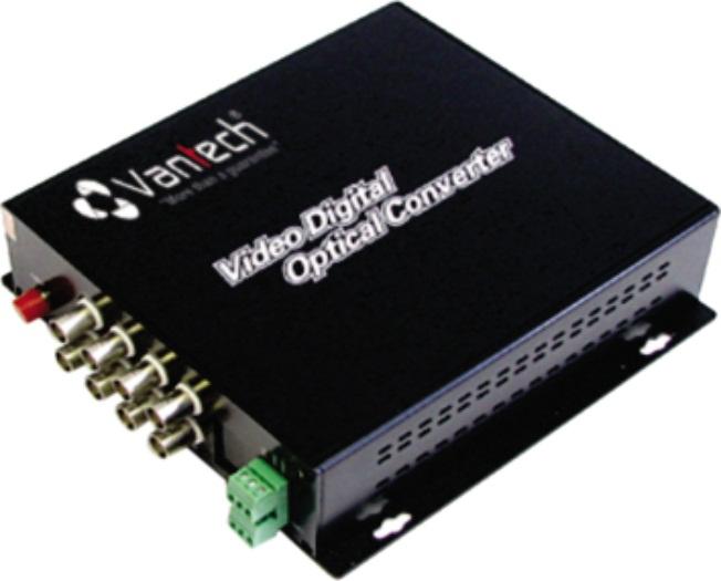 Bộ chuyển đổi video quang VANTECH VTF-08