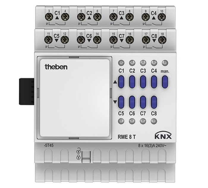Blind Actuator THEBEN RME 8 T KNX MIX2