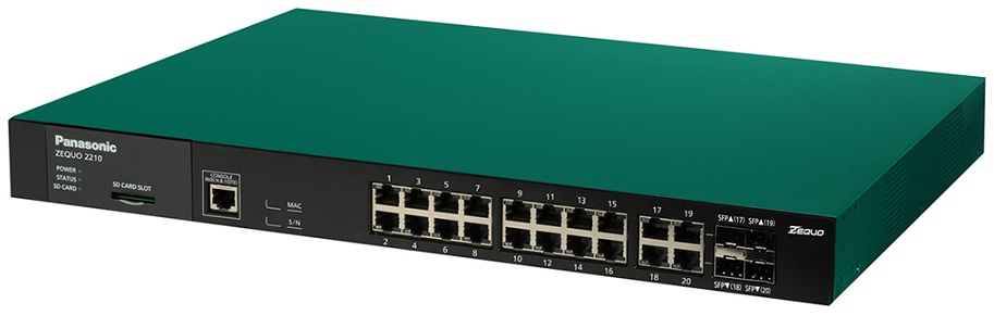 20-port 10/100/1000M + 4 SFP Switch PANASONIC PN26161