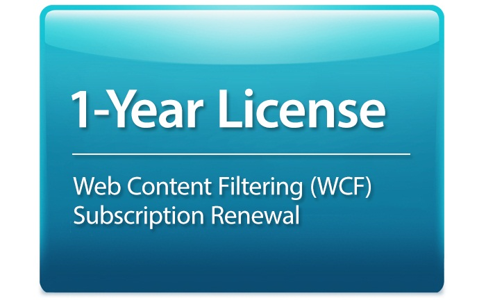 Web Content Filtering Subscription License D-Link DSR-500AC-WCF-12-LIC
