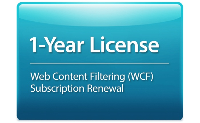 Web Content Filtering Subscription License D-Link DSR-1000AC-WCF-12-LIC