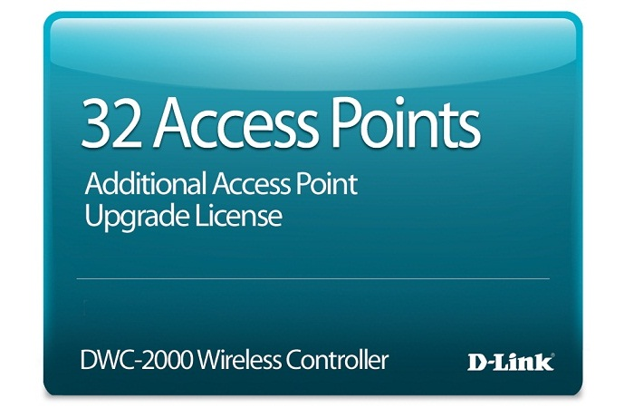 32 Access Point Upgrade License D-Link DWC-2000-AP32-LIC