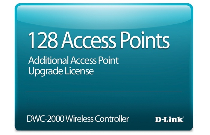 128 Access Point Upgrade License D-Link DWC-2000-AP128-LIC