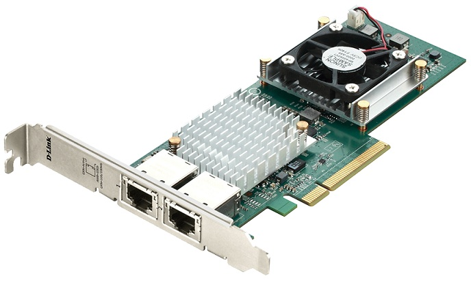 2-Port PCIe 10GBase-T Adapter D-Link DXE-820T