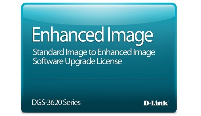 Standard Image to Enhanced Image Upgrade License D-Link DGS-3620-28SC-SE-LIC