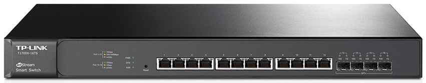 JetStream 16-Port 10GBase-T Smart Switch TP-LINK T1700X-16TS