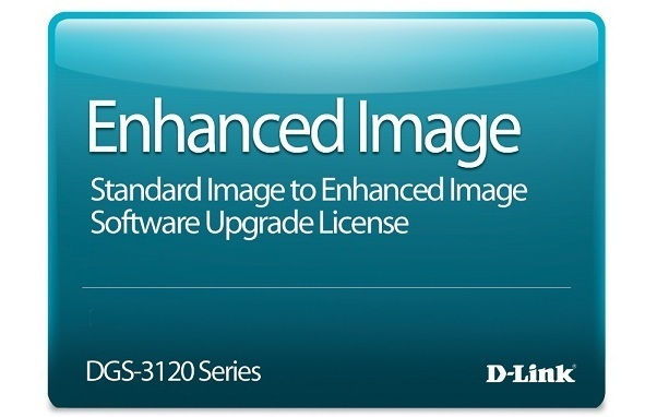 Standard Image to Enhanced Image Upgrade License D-Link DGS-3120-24TC-SE-LIC