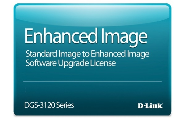 Standard Image to Enhanced Image Upgrade License D-Link DGS-3120-24SCDSE-LIC