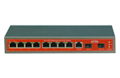 Switch PoE WITEK | 1-7 port Gigabit 24V PoE Switch WITEK WI-PMS310GFR