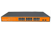 Switch PoE WITEK | 1-23 port Gigabit 24V PoE Switch WITEK WI-PMS326GFR