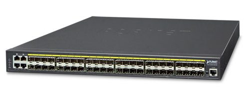 48-port 100/1000Mbps Switch PLANET GS-5220-44S4C