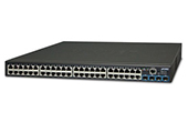 Thiết bị mạng PLANET | 48-port 10/100/1000Mbps + 4-port 10G SFP + Web Smart Switch PLANET GS-2240-48T4X