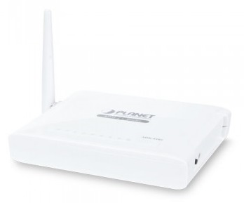 802.11n Wireless ADSL 2/2+ 4-port Router PLANET ADN-4102A
