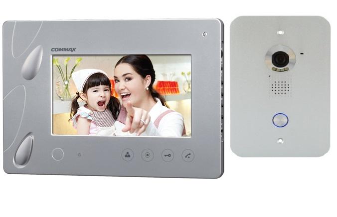 Bộ chuông cửa màn hình màu COMMAX CDV-70PM/DRC-40PM