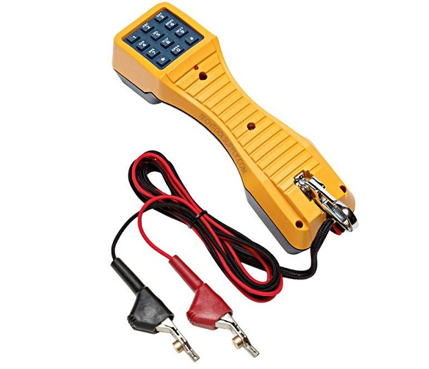 Telephone test set with ABN TS19 FLUKE networks