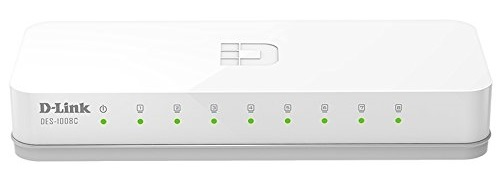 8-port 10/100Mbps Switch D-LINK DES-1008C