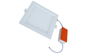 Đèn LED DUHAL | Đèn LED âm trần vuông driver rời 8W DUHAL DGV008A