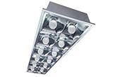 Đèn LED DUHAL | Máng đèn LED âm trần 60W DUHAL PQX125