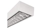 Đèn LED DUHAL | Máng đèn LED phản quang gắn nổi 1x9W DUHAL LDD 120