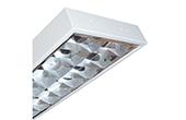 Đèn LED DUHAL | Máng đèn LED phản quang gắn âm trần 2x9W DUHAL LDD 220